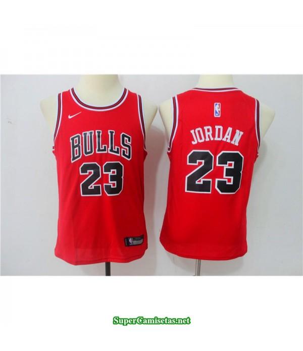 Camiseta NIÑOS Michael Jordan 23 roja
