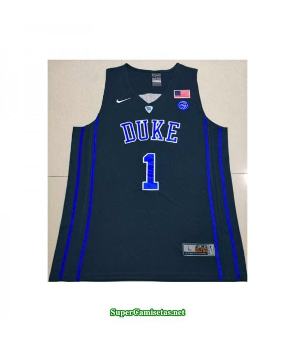 Camiseta 2019 Williamson 1 negra Duke Blue Devils
