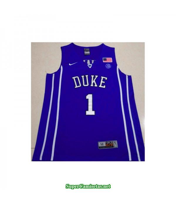 Camiseta 2019 Williamson 1 azul Duke Blue Devils