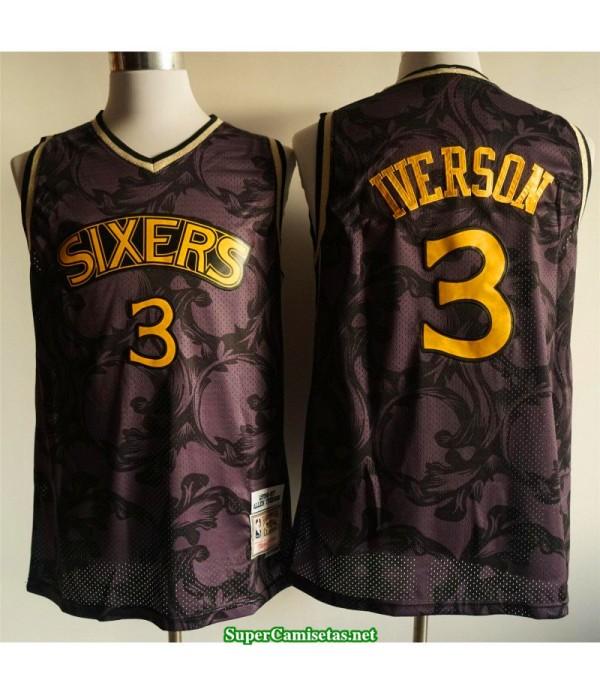 Camiseta 2020 Iverson 3 negra dorada