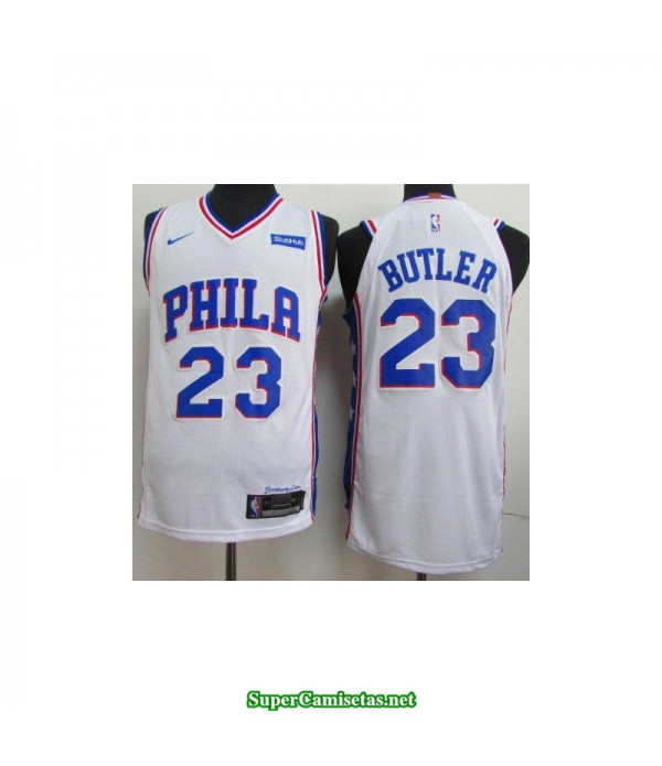 Camiseta 2019 Philadelphia blanca Butler 23