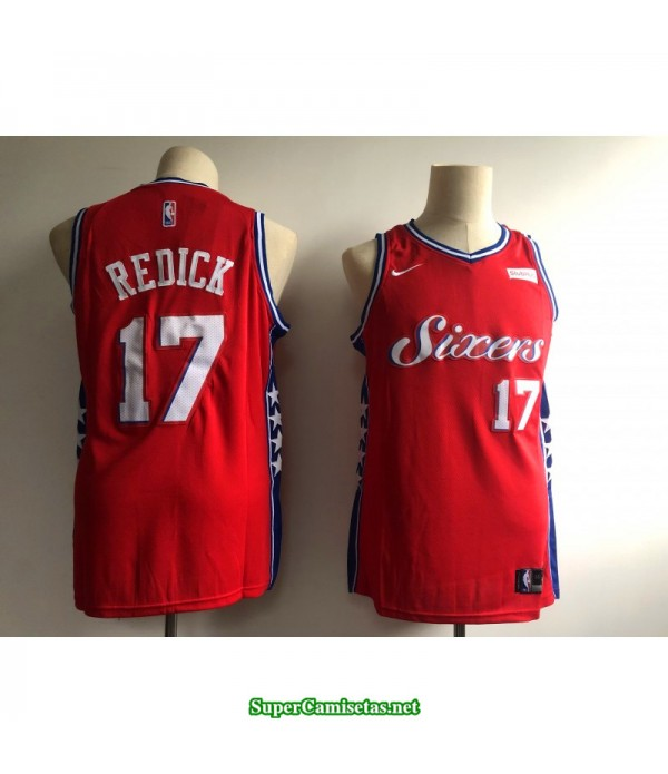 Camiseta 2019 Philadelphia Roja Redick 17