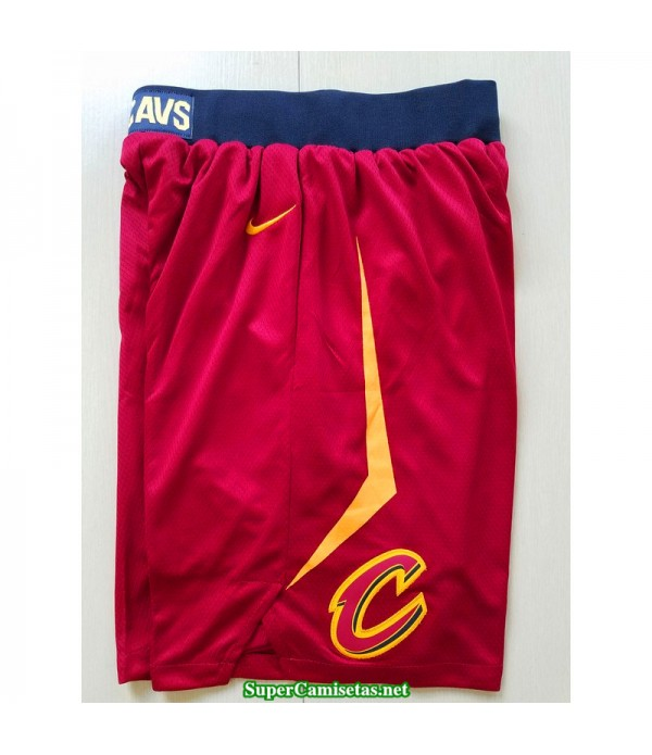 Pantalon 2018 Cleveland Cavaliers Rojo