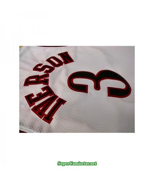 Camiseta Iverson 3 blanca Philadelphia Sixers