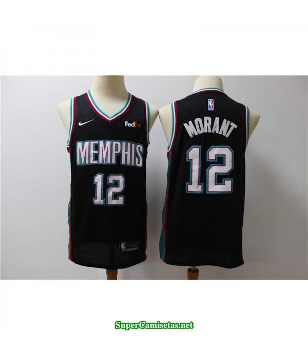 Camiseta retro Morant 12 Memphis