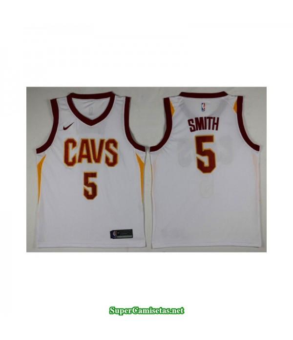Camiseta Smith 5 blanca Cleveland Cavaliers 2018