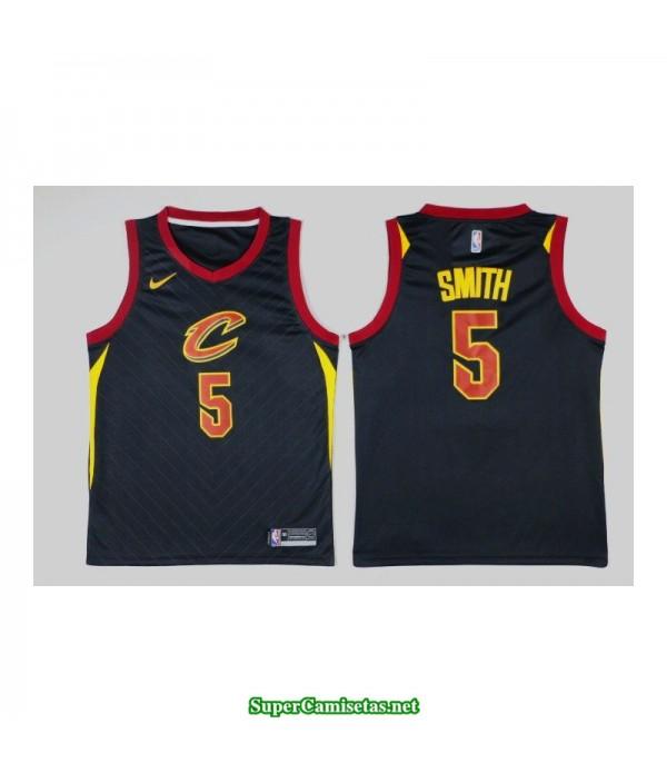 Camiseta Smith 5 negra Cleveland Cavaliers 2018