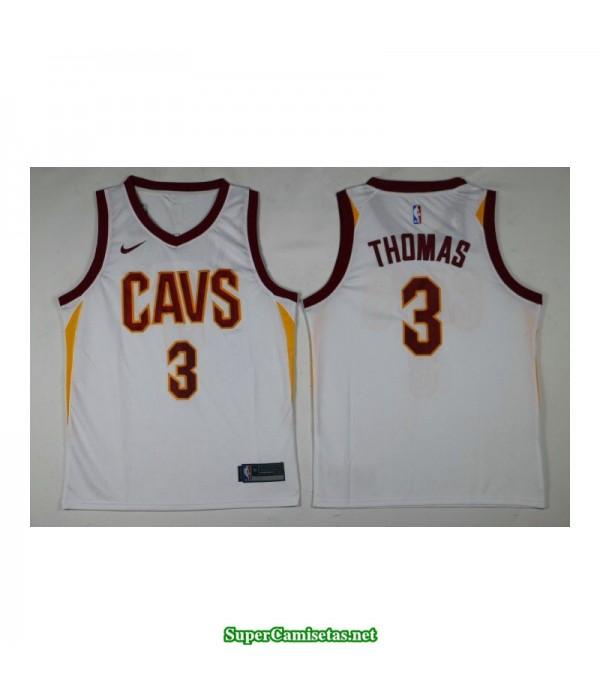 Camiseta Thomas 3 blanca Cleveland Cavaliers 2018