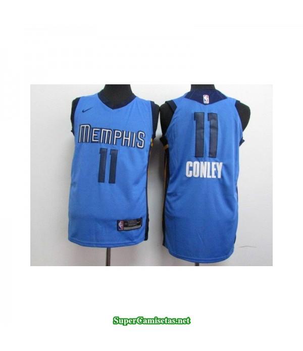 Camiseta 2018 Conley 11 Memphis Grizzlies azul