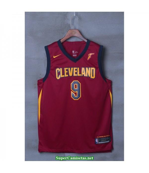 Camiseta Wade 9 roja Cleveland Cavaliers 2018