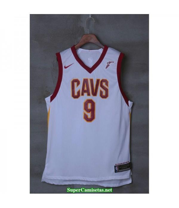Camiseta Wade 9 blanca Cleveland Cavaliers 2018