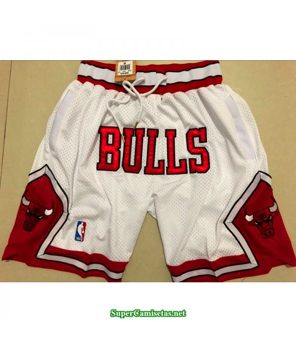 Pantalon Chicago Bulls 2019 blanco