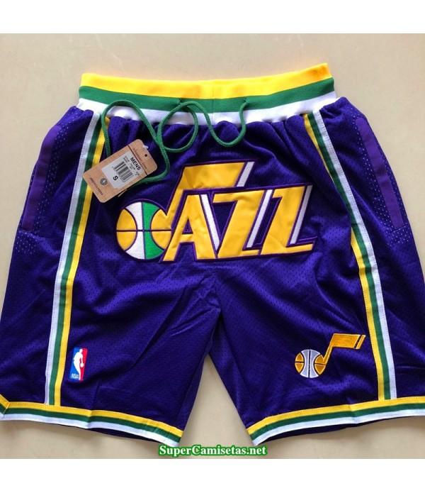 Pantalon Utah Jazz 2019 morado