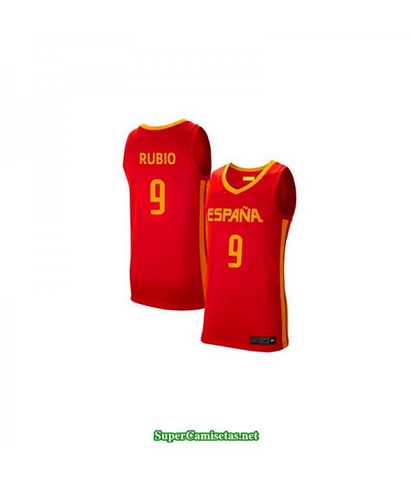 Camiseta Selección Española Personalizada roja