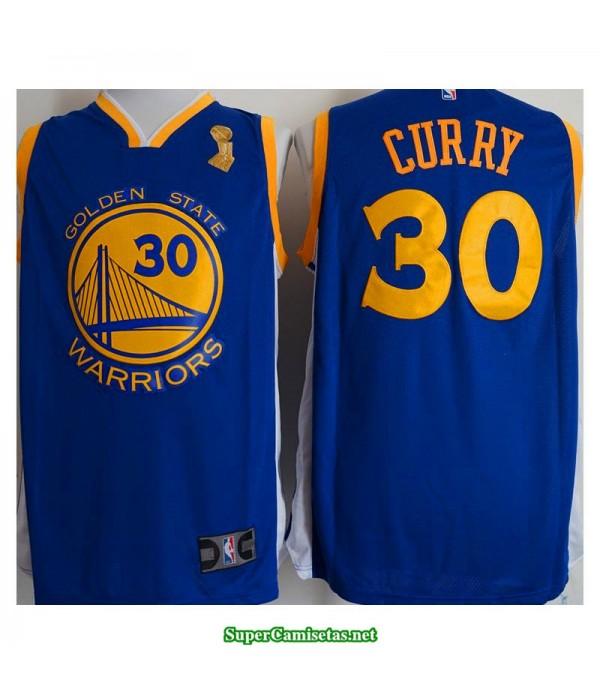 Camiseta Champion Stephen Curry 30 azul Golden State Warriors