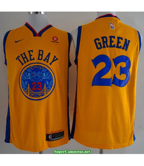 Camiseta Green 23 the bay Golden State Warriors