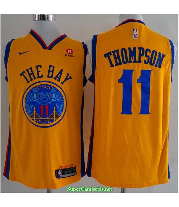 Camiseta Thompson 11 the bay Golden State Warriors