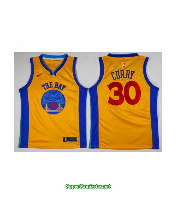 Camiseta Curry 30 the bay Golden State Warriors
