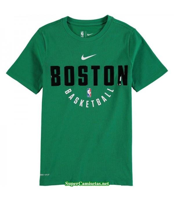 Camiseta Boston Celtics Manga Corta