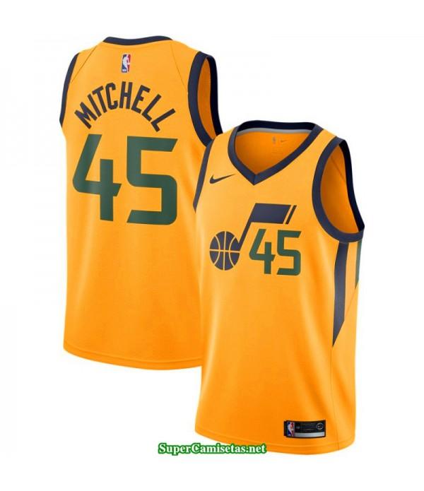 Camiseta Niños Mitchell 45 amarilla