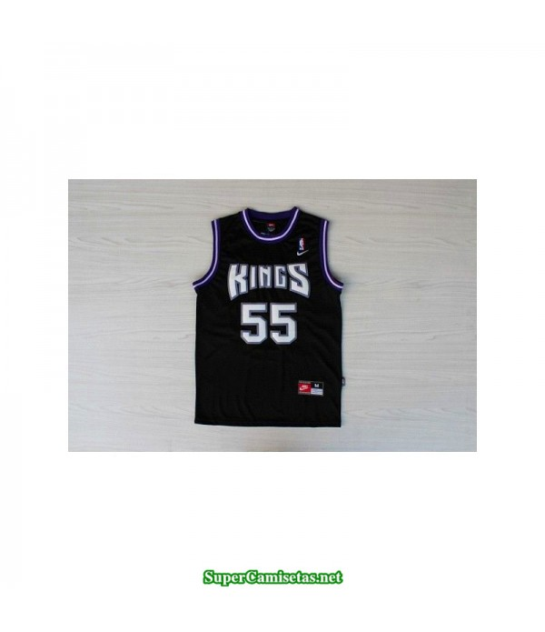 Camiseta Jason Williams 55 negra Sacramento King