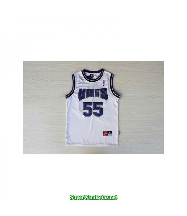 Camiseta Jason Williams 55 blanca Sacramento King