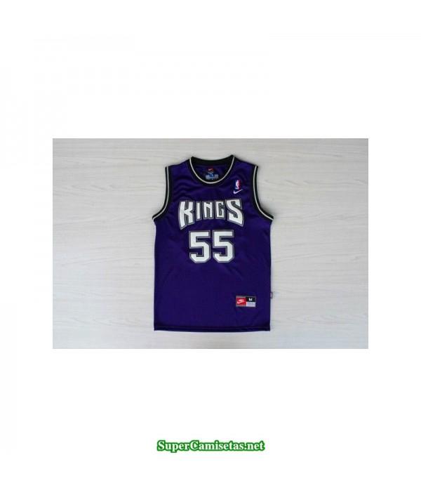 Camiseta Jason Williams 55 morada Sacramento King