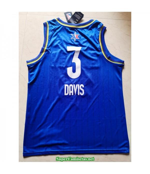 Camiseta Allstar Davis 3 azul 2020