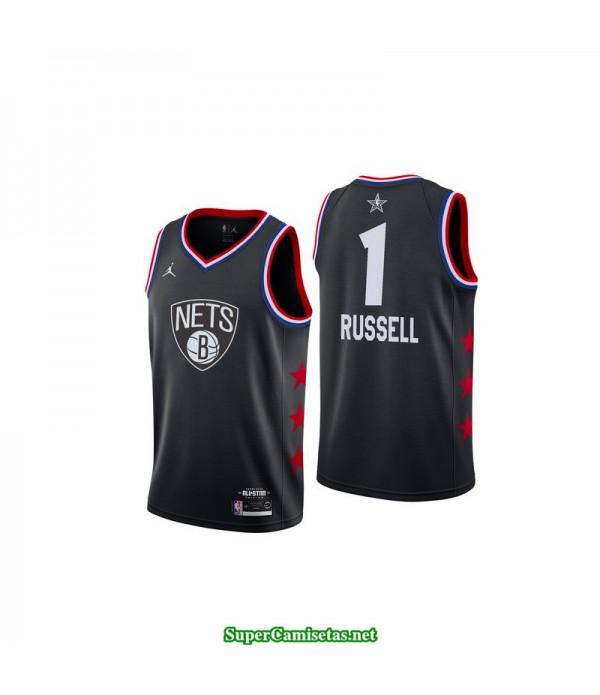 Camiseta Allstar Russell 1 negra 2019