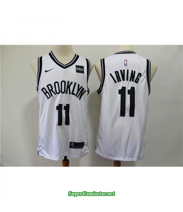 Camiseta Nets Brooklyn Irving 11 blanca