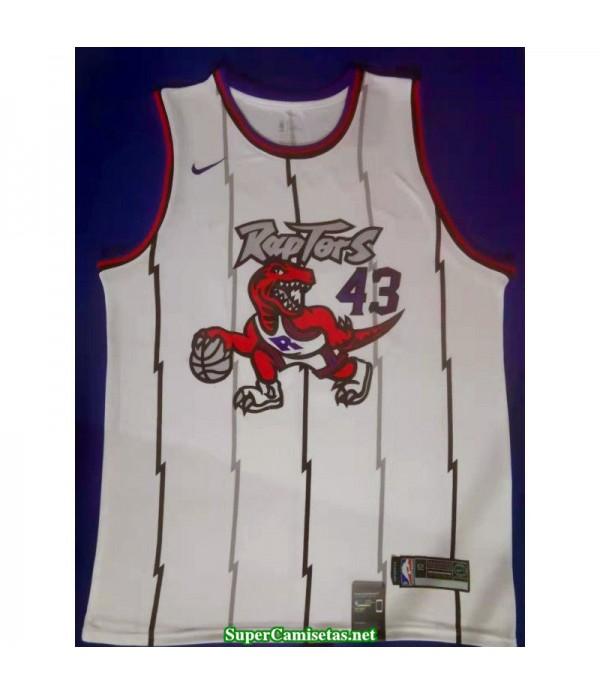 Camiseta Siakam 43 Toronto Raptors Dinosaurio