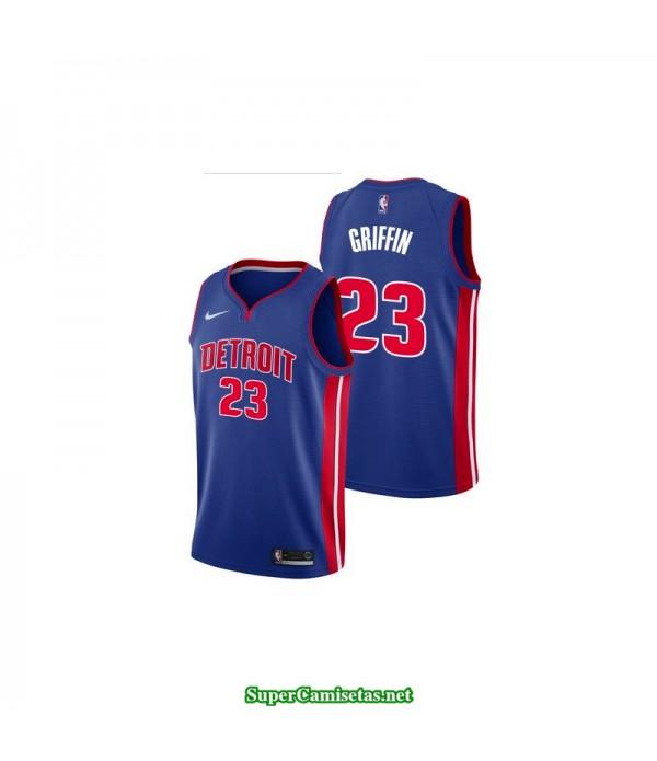Camiseta Griffin 23 azul Detroit Pistons