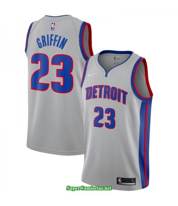 Camiseta Griffin 23 blanca Detroit Pistons