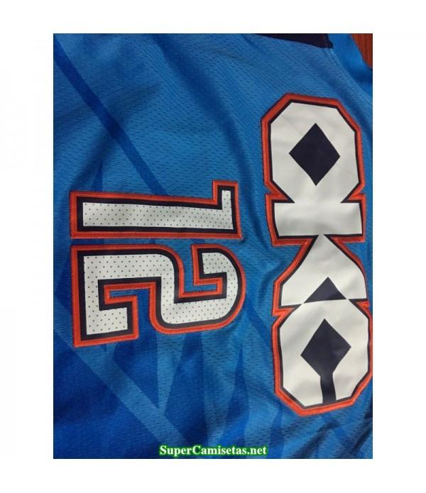 Camiseta 2019 Adams 12 azul Oklahoma B