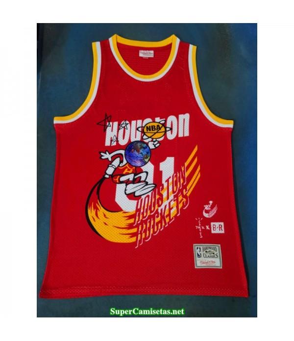 Camiseta 2019 Jack Houston Rocket Hardwood