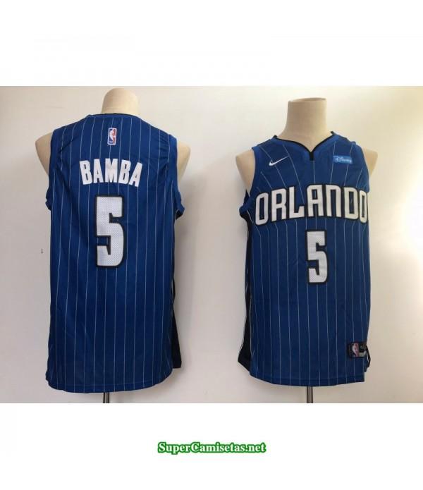 Camiseta 2018 Bamba 5 azul Orlando Magic