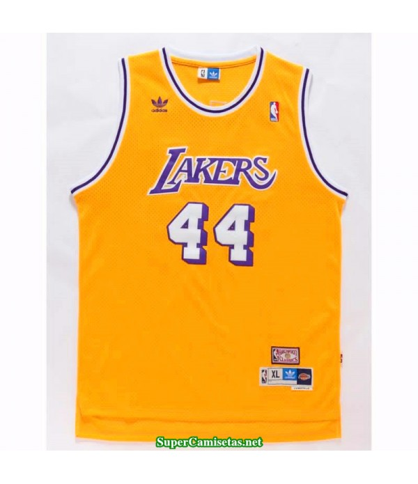 Camiseta West 44 retro Angeles Lakers