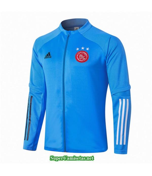 Tailandia Camiseta Afc Ajax Veste Azul Claro 2020