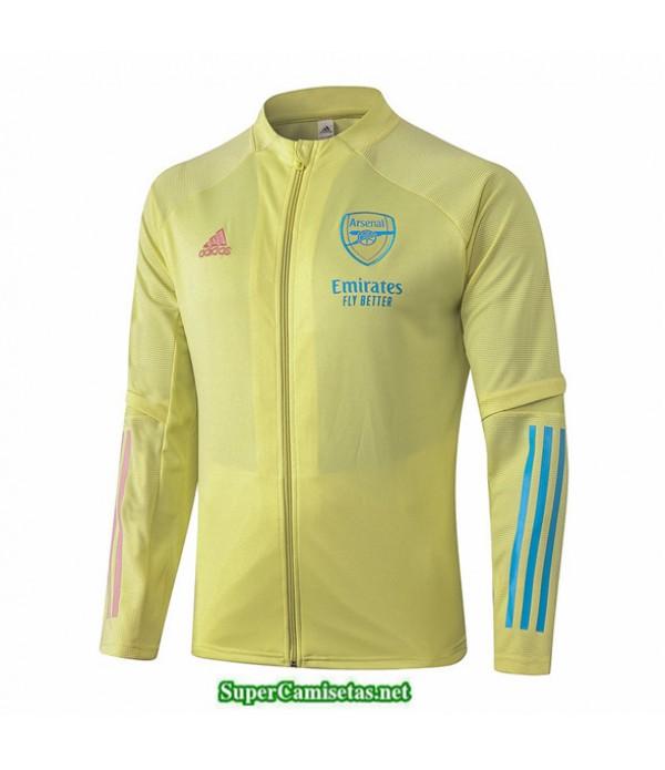 Tailandia Camiseta Arsenal Veste Amarillo 2020
