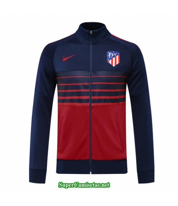 Tailandia Camiseta Atletico Madrid Veste Azul Oscuro/rojo 2020