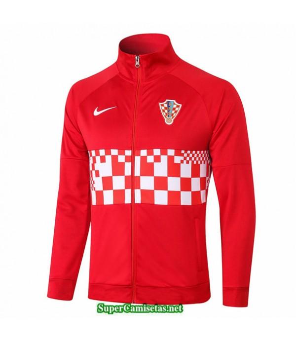 Tailandia Camiseta Croacia Veste Rojo 2020