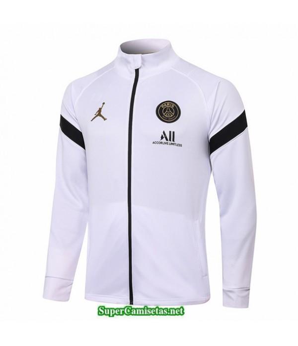 Tailandia Camiseta Jordan Veste Blanco/negro 2020