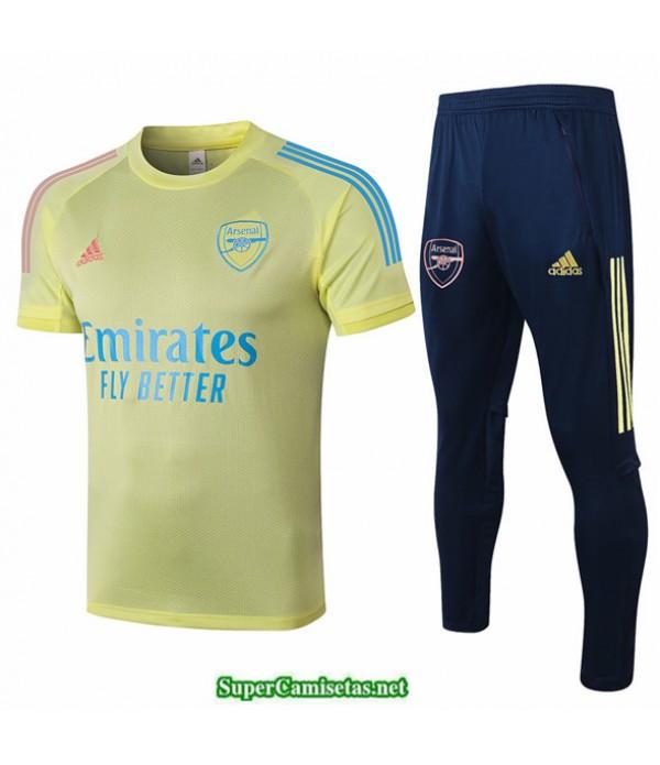 Tailandia Camiseta Kit De Entrenamiento Arsenal Amarillo 2020
