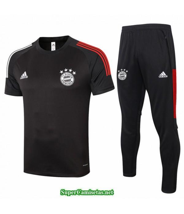 Tailandia Camiseta Kit De Entrenamiento Bayern Munich Negro 2020