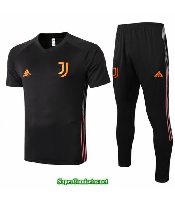 Tailandia Camiseta Kit De Entrenamiento Juventus Negro 2020