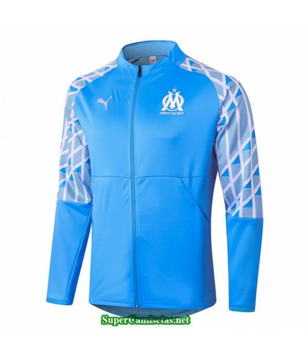 Tailandia Camiseta Marsella Veste Azul Claro 2020