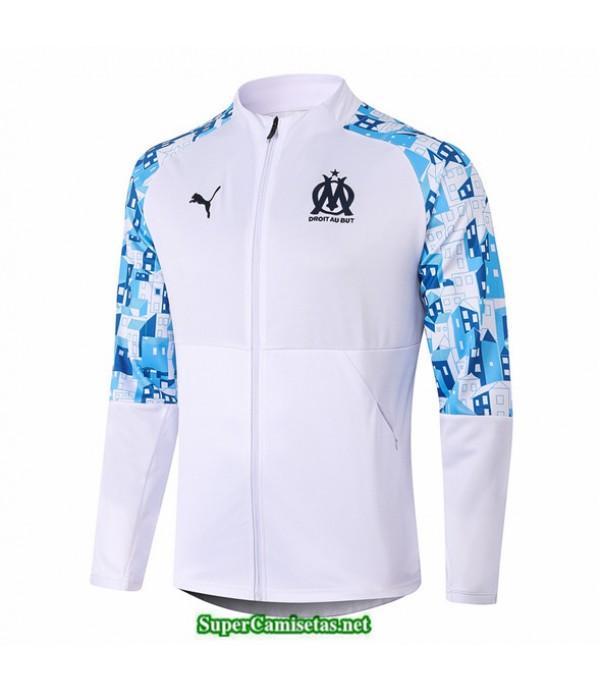Tailandia Camiseta Marsella Veste Blanco 2020