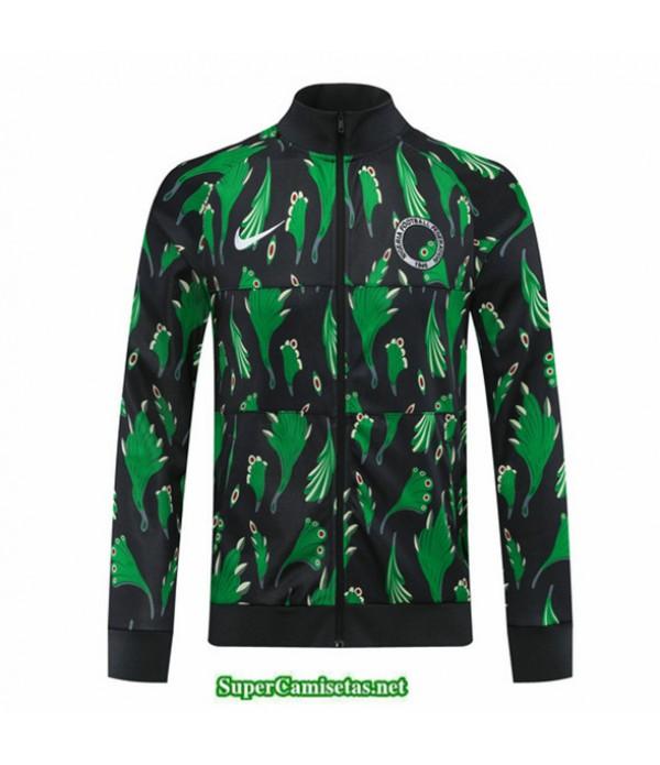 Tailandia Camiseta Nigeria Veste Negro/verde 2020