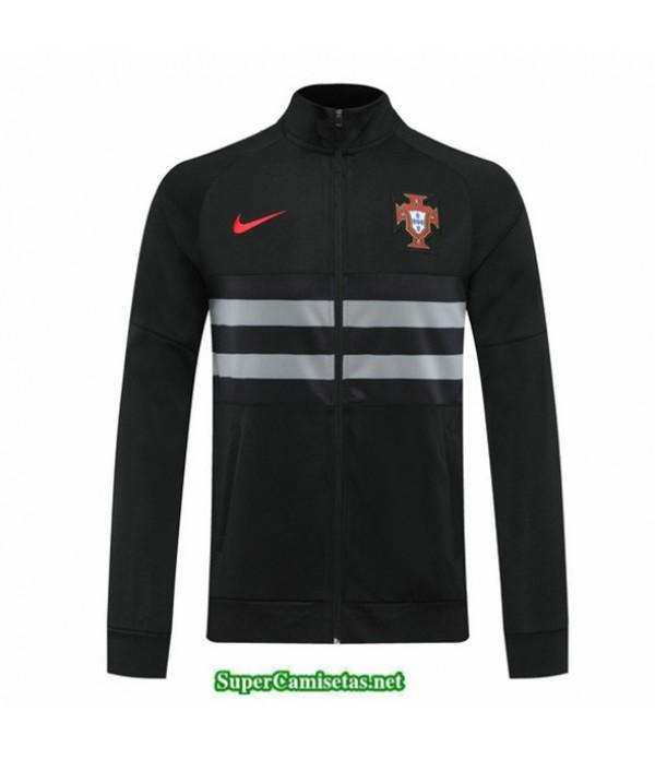 Tailandia Camiseta Portugal Veste Negro 2020