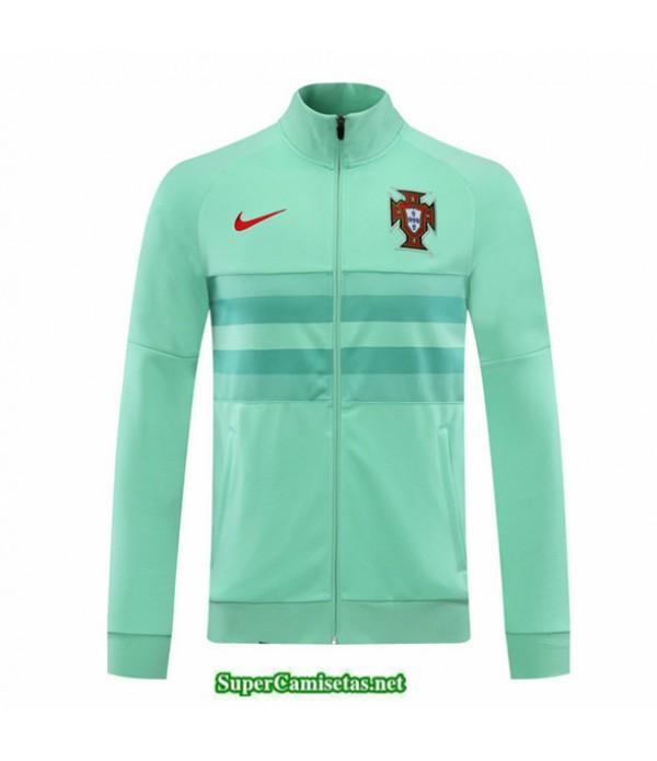 Tailandia Camiseta Portugal Veste Verde 2020